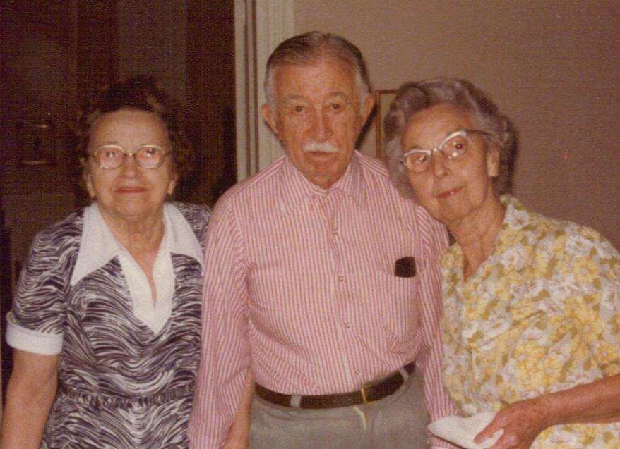 Picture Polly Shoaf, Joseph Turner Shoaf, Merle Pethel (7/16/1978)